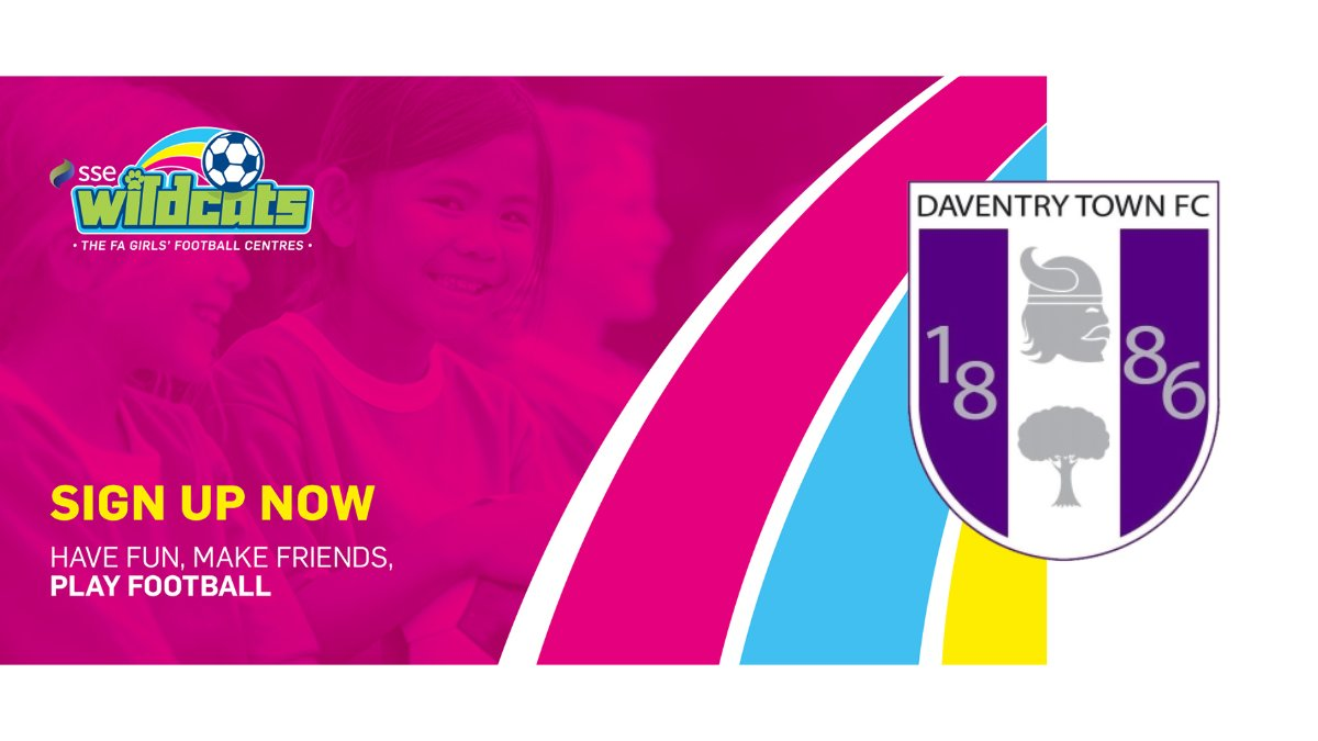 WILDCATS Were hosting a girls only session on Saturday 4th April 12-1pm at the 3G courts at Daventry Town. This session is open to any girl of any ability between the age of 5-11. Its only £2 per session so come along! Our end goal is to set up a girls team!