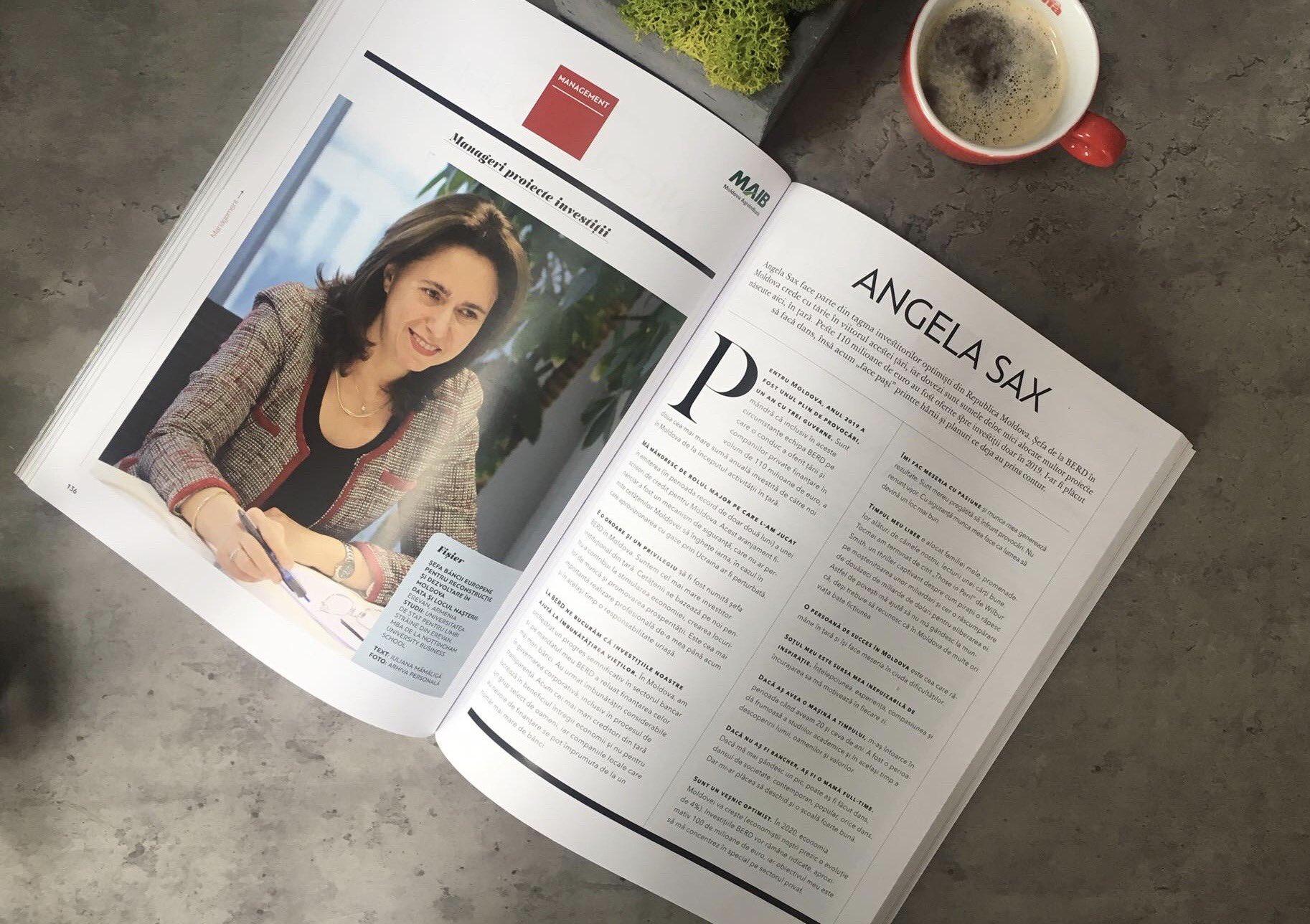 Angela Sax EBRD