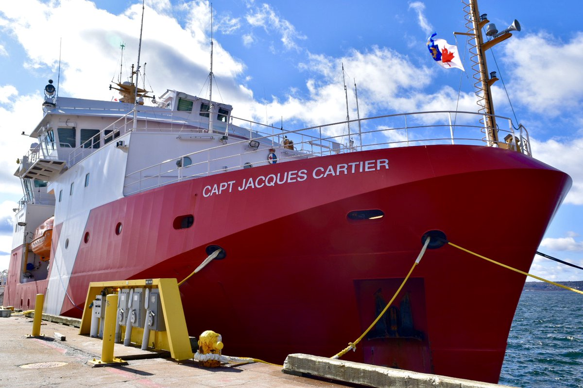 Canadian Coast Guard On Twitter Time To Celebrate Ccgs Capt Jacques Cartier The 2nd Of 3 Offshore Fisheries Science Vessels Built By Morethanships Arrived At Its Homeport In Dartmouth Novascotia