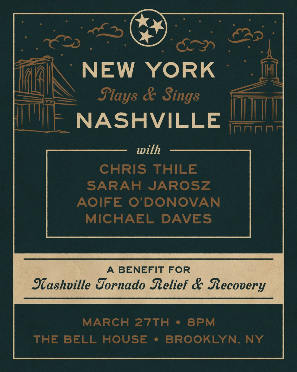 A friend in need is a friend in D (preceded by G and C). We love you, Nashville!!! bit.ly/NYCsingsNASH