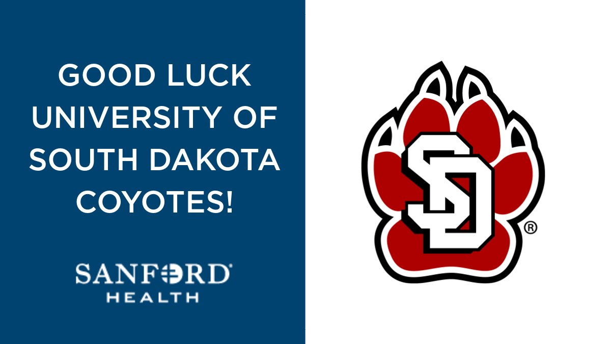 Good luck to @SDCoyotesWBB in the @thesummitleague semifinals. #reachthesummit #sanfordsports