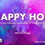Image for the Tweet beginning: #HappyHoli to all our fans