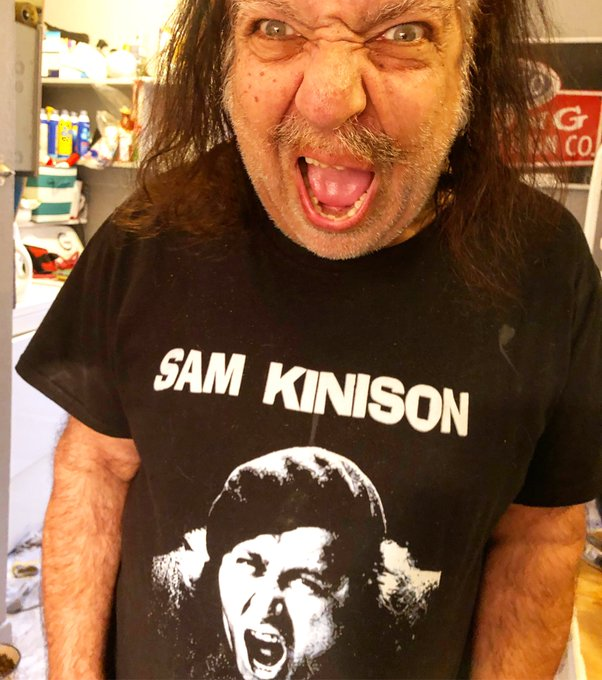 This is my friend Sam Kinson. One of the legends of stand up!!! I miss him every day!   #RonJeremy