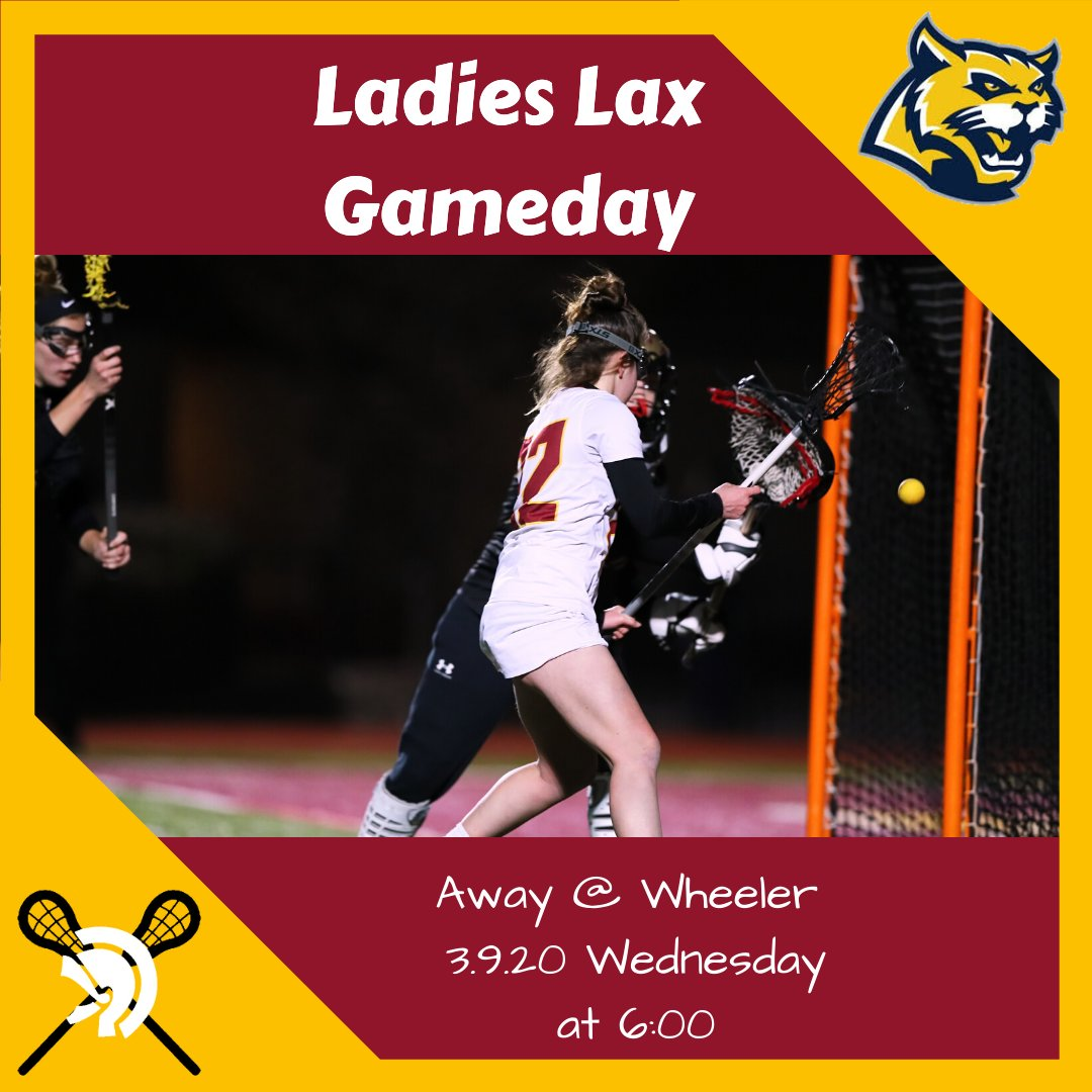GAME DAY LAX!! Lady Trojans LAX Head to Wheeler Tonight! #defendersoftroy