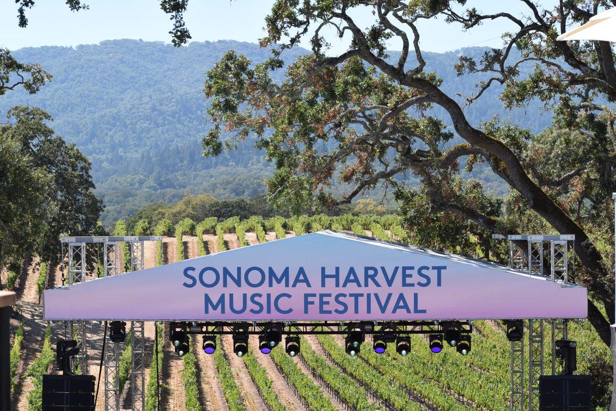 Sonoma Harvest Music Festival 2021