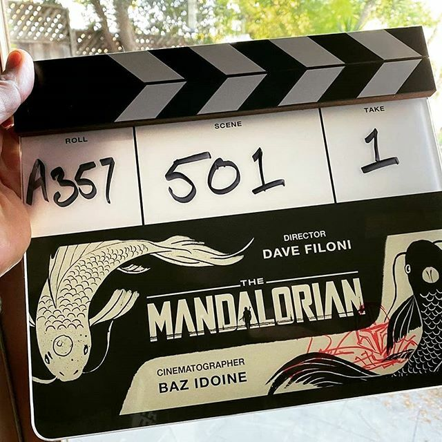 That's a wrap! Mandalorian season 2 coming in October 2020... #mandalorian : @bazidoine  #mandalorianseason2 #disney #disneyplus #like #love #share #follow #followus #comment #moviesplash pic.twitter.com/Qg8SSUI0dO