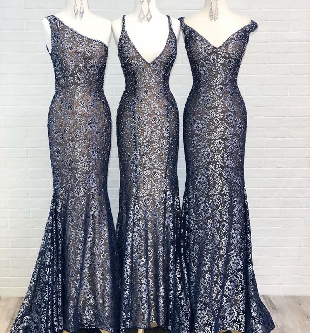 #JOVANI Knows Lace 💙 These amazing styles are in store & ready to order!   Shop now ➡️ https://t.co/NLSnXVV4xk https://t.co/xo7bHMYn8S