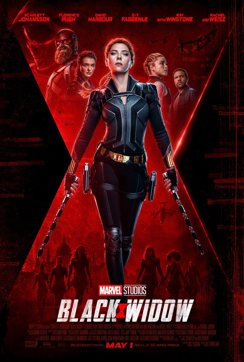 Black Widow Final Trailer And Poster Has Arrived