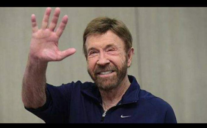 Happy 80th Birthday to Chuck Norris  Aging well