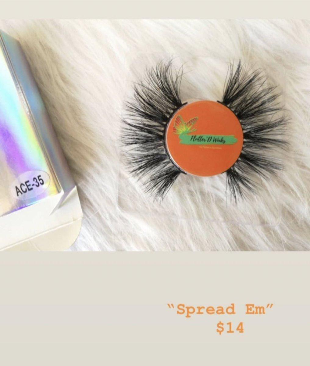 """Spread Em"" $14 COME SHOP LADIES Link To WEBSITE in BIO  CONTACT US  flutterd.essentials@gmail.com #lashbabes #minkeyelashstrips #dmvlashes #girlboss #makeup #girlboss #dmvmakeupartist #dmvmakeup #lashes #lashtechnician #minkstriplashes #makeupbrushes #comeshoppic.twitter.com/tm206sLvX1"