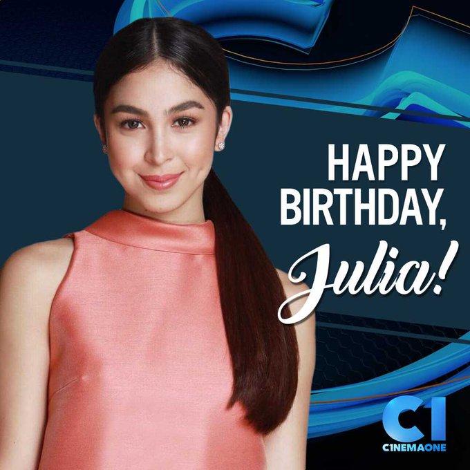 Happy birthday, Julia Barretto (  From