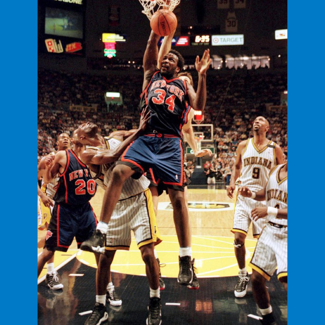I did it then and I'm doing it now for you — the fans! #knicks #charlesoakley #34 #knicksnation
