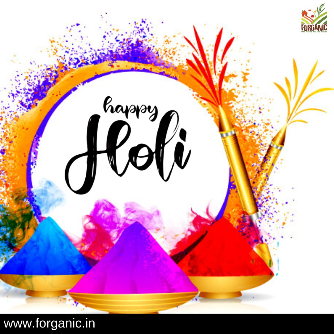 May good health and happiness be your strongest allies and never leave you. Have a wonderful Holi. https://t.co/nHkCBmHv2G . . #forganicexperience #Forganic #festival #india #holi #rangbarse #festivalofcolors #indianfestivals #holiparty  #holifestivalofcolours #holicelebration https://t.co/zkZTXQABFP