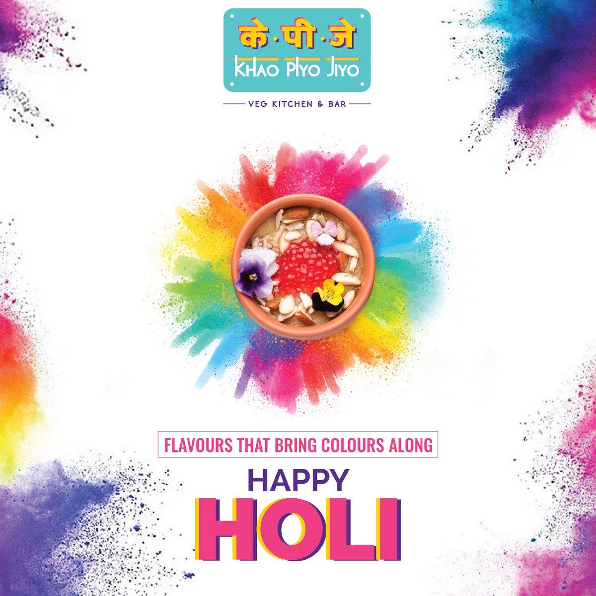 Holi Khele Raghuveera? Wish you all a very happy, vibrant and safe Holi. Let's celebrate a lifetime of colours and joy! . . . #khaopiyojiyo #happyholi #flavours #holicelebration #colour #things2doinmumbai #themumbaiguide #chickenbiryani #mumbaieats #foodtalkindia #foodtalkmumbai pic.twitter.com/UWrnXGho90