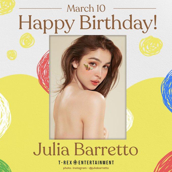 Happy 23rd birthday, Julia Barretto
