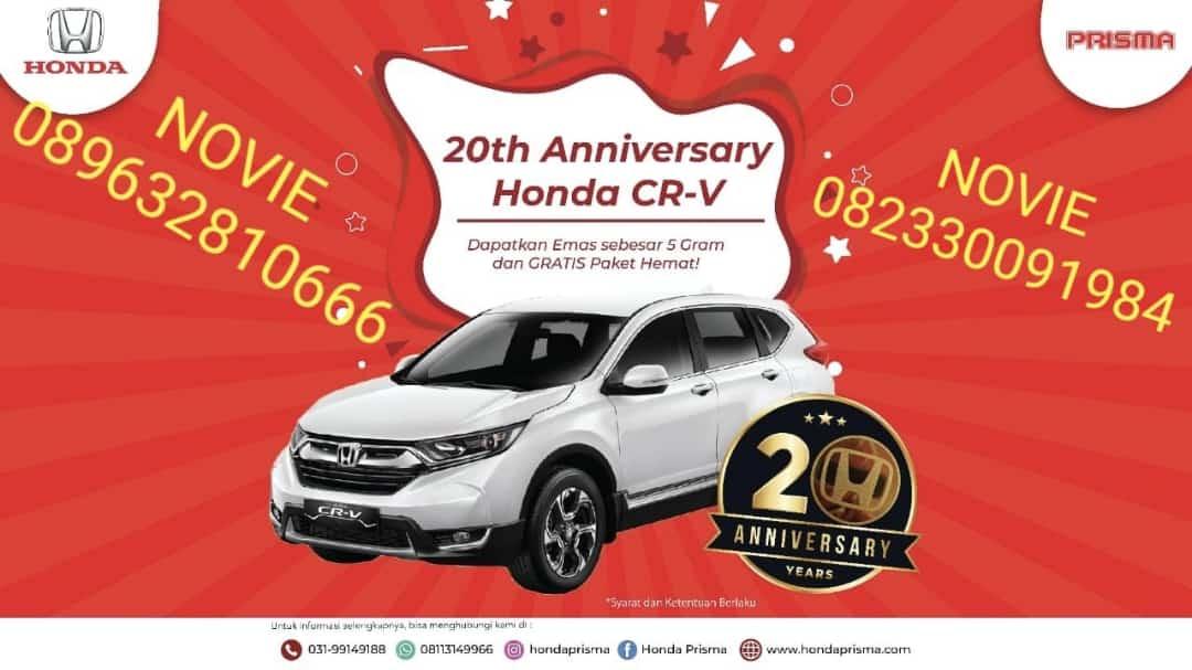 Promo 20th Anniversary Honda CR-V