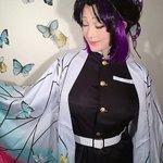 ファビュラス…!叶美香さんが今度は『鬼滅の刃』胡蝶しのぶのコスプレ披露!