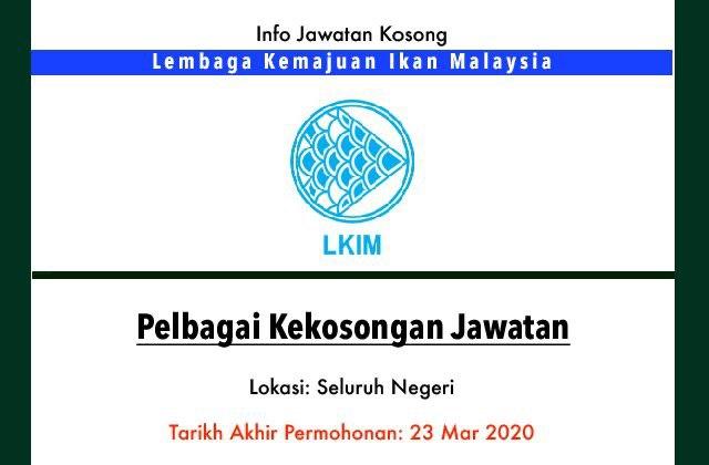 Mirul Prubsn Takaful On Twitter Info Jawatan Kosong Terkini Jawatan Kerajaan Lembaga Kemajuan Ikan Malaysia Kekosongan Jawatan 1 Pembantu Tadbir Gred N19 2 Pemandu Kenderaan Gred H11 3 Pembantu Operasi Gred