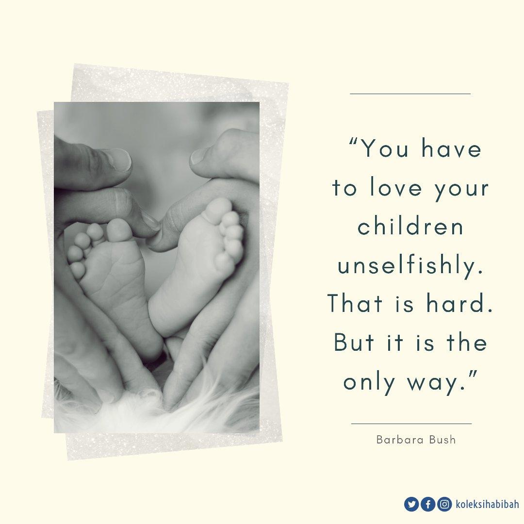 """""""Kamu harus mencintai anakmu tanpa pamrih. Itu memang sulit. Tapi itu adalah satu-satunya cara""""  #polaasuh #polaasuhanak #tipsanakcerdas #infoparentinganak #pengasuhananak #tipsbunda #infoanak #pendidikananak #tipsorangtua pic.twitter.com/Gy08e0mKxR"""