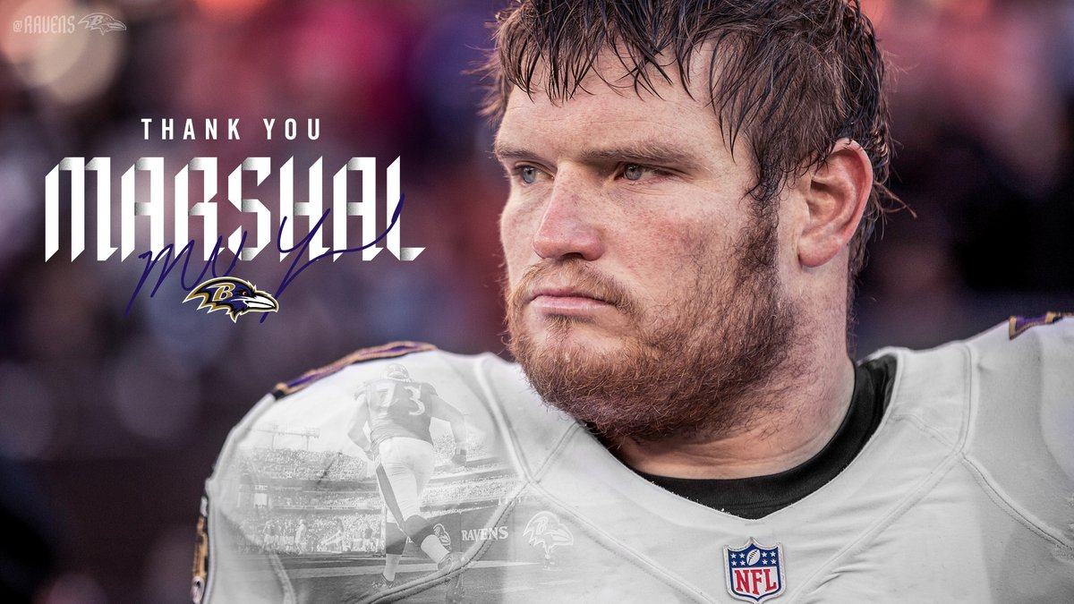 Forever a Raven. After 13 incredible seasons, Marshal Yanda is calling it a career.