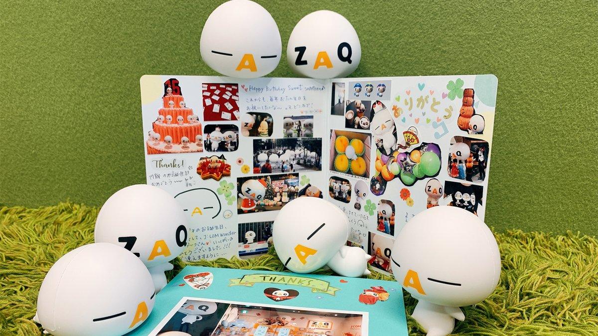 ざっくぅ 公式 Zaq Official Twitter