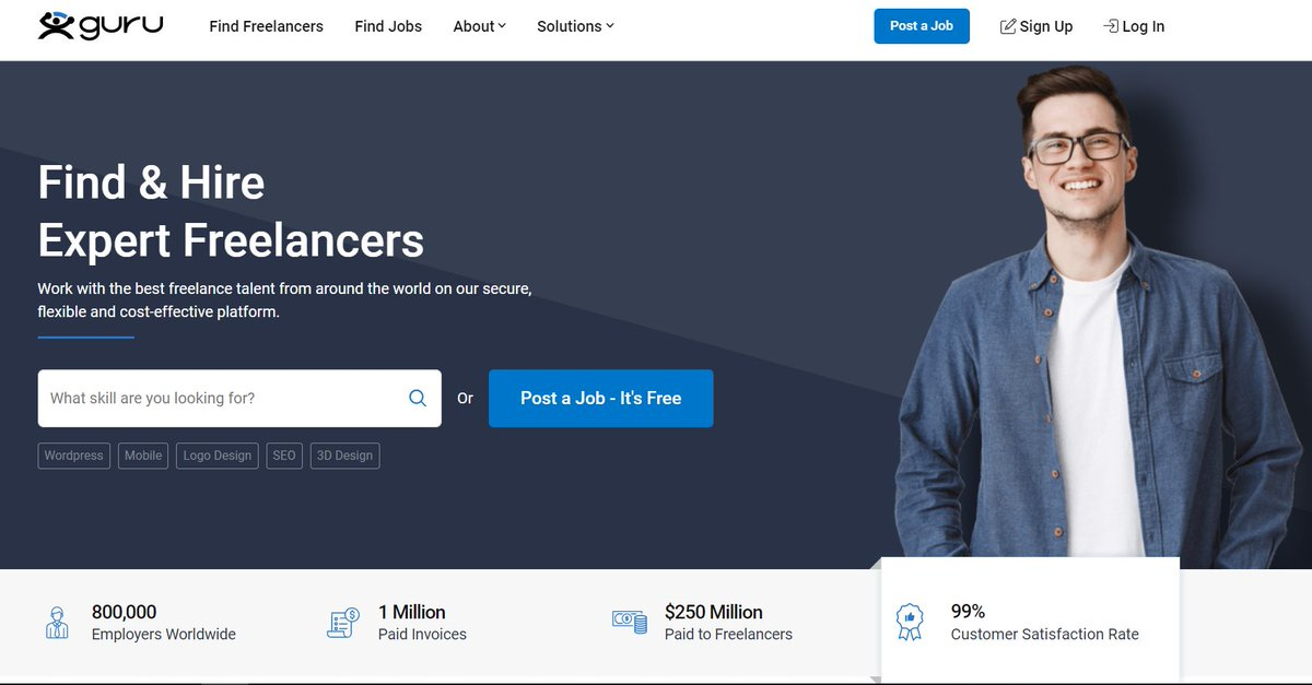 Freelancer find job найти фрилансеров сайт