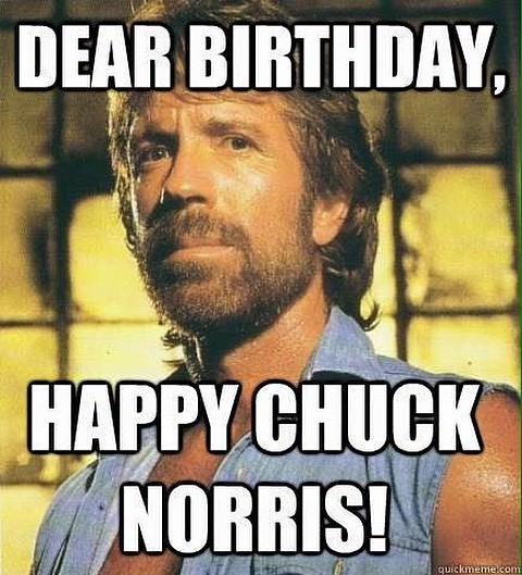 Happy 80th Birthday Chuck Norris! Do you have a favorite movie or Joke?