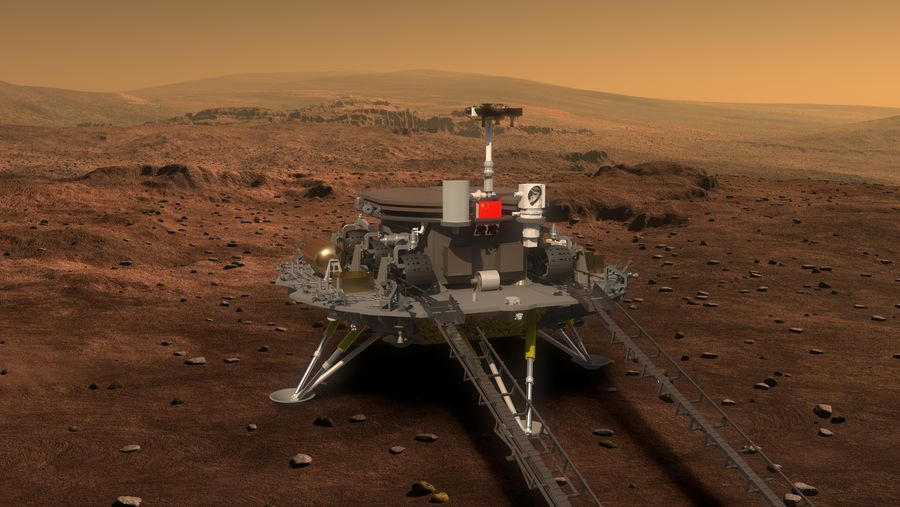 [Chine] Mission Tianwen-1 (orbiteur + atterrisseur + rover) ESvOuILUMAMDF7e?format=jpg&name=900x900