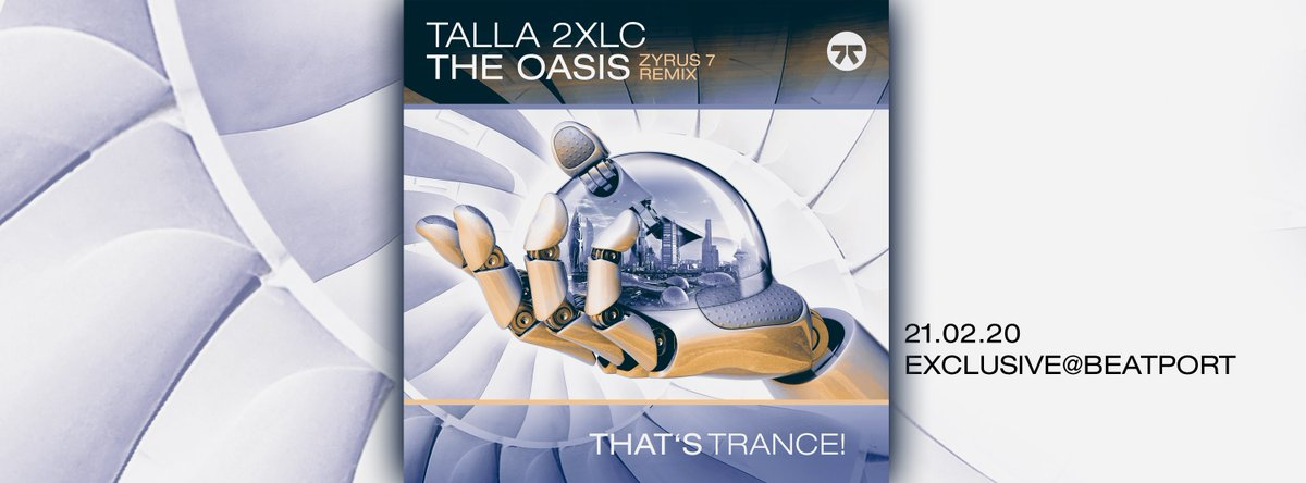 Out Now - The Oasis (Zyrus 7 Remix)   The final remix is a Psytrance version of ZYRUS 7 and will even more energetic and powerful than his previous ones.  https://zyxdance.lnk.to/LecYebTq  #thatstrance #trance #dance #zyxmusic #talla2xlc #indecentnoisepic.twitter.com/Sj6EfkAkpU