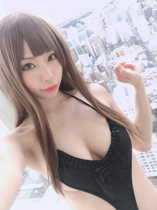 コスプレイヤー高村しおんのTwitter自撮りエロ画像24