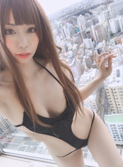 コスプレイヤー高村しおんのTwitter自撮りエロ画像25