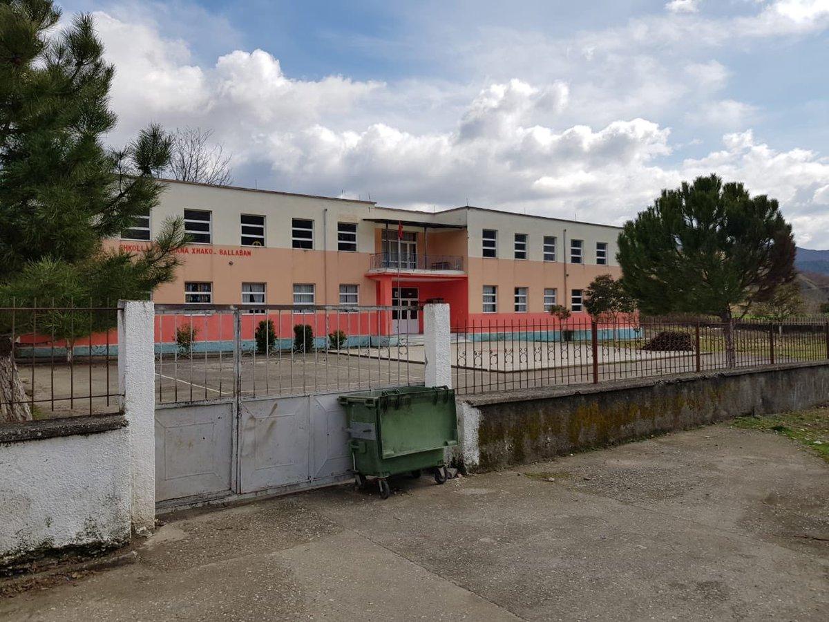 """Ο χρήστης Koha Jonë στο Twitter: """"Shkolla të mbyllura për shkak të  koronavirusit. Ballaban, Këlcyrë #Albania #Albania  #CoronavirusAlertaMundial #koronavirusalbania… https://t.co/HCxDXUMwOg"""""""