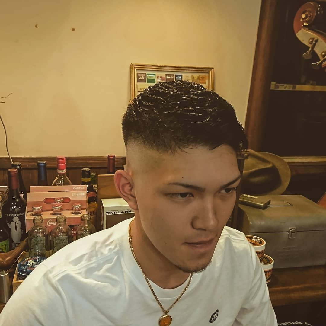 スキン フェード 短髪