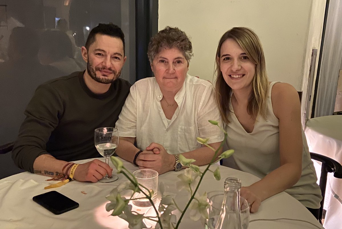 Lovely dinner in Miami with one of our besties @LindaRiley8 at the legendary Mr Chow's. 😊❤️🥳@hannahw253