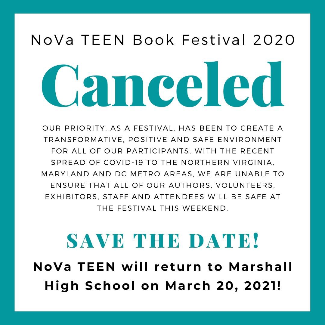 RT <a target='_blank' href='http://twitter.com/NoVaTEENBF'>@NoVaTEENBF</a>: Hey everyone, in light of COVID-19, we've unfortunately had to cancel our festival. <a target='_blank' href='https://t.co/HlGBj5TeMF'>https://t.co/HlGBj5TeMF</a>