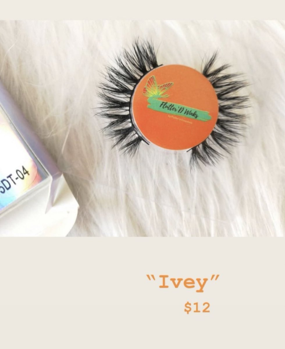 """IVEY"" $12 COME SHOP LADIES Link To WEBSITE in BIO  CONTACT US  flutterd.essentials@gmail.com #lashbabes #minkeyelashstrips #dmvlashes #girlboss #makeup #girlboss #dmvmakeupartist #dmvmakeup #lashes #lashtechnician #minkstriplashes #makeupbrushes #lashcleaner #comeshoppic.twitter.com/ZzxJybjs7C"