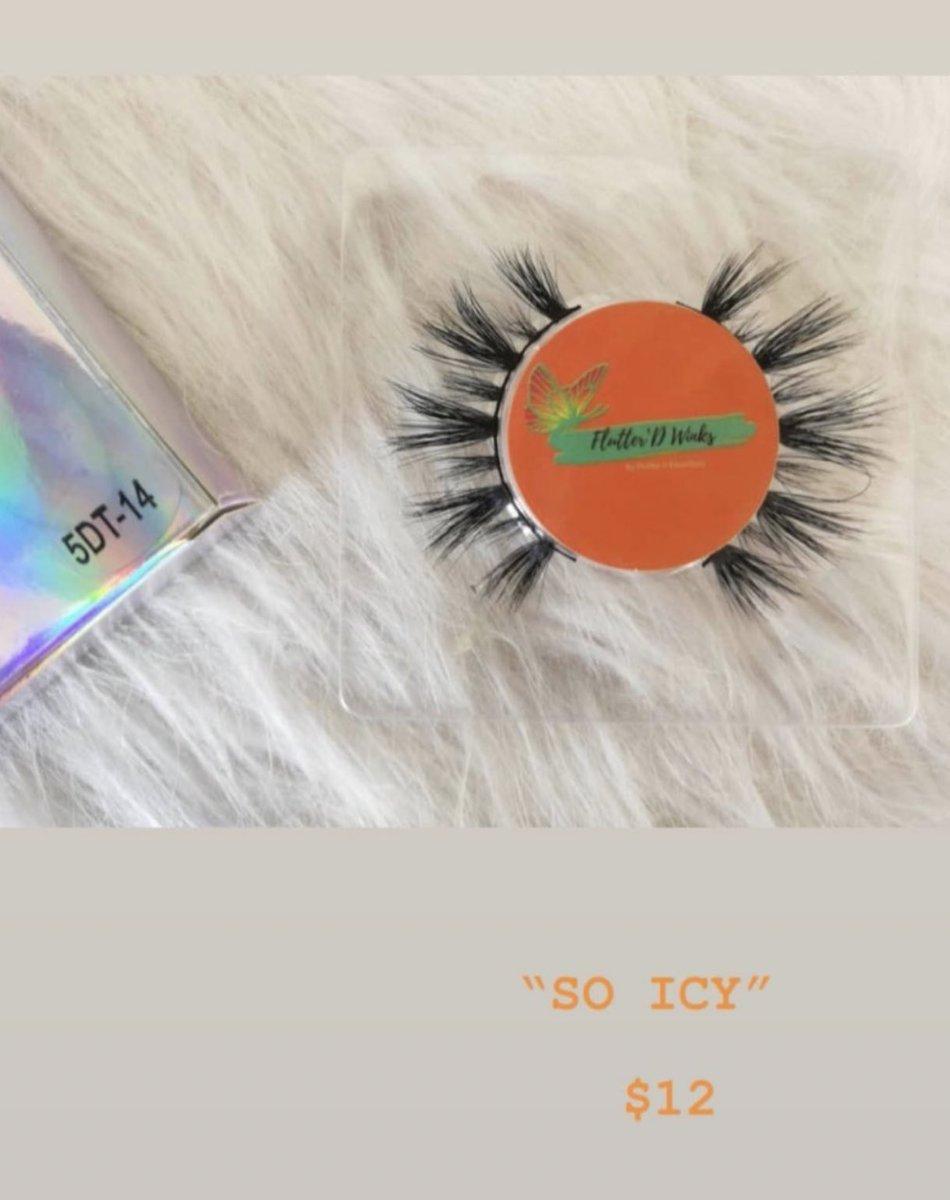 """SO ICY"" $12 COME SHOP LADIES Link To WEBSITE in BIO  CONTACT US  flutterd.essentials@gmail.com #lashbabes #minkeyelashstrips #dmvlashes #girlboss #makeup #girlboss #dmvmakeupartist #dmvmakeup #lashes #lashtechnician #minkstriplashes #makeupbrushes #lashcleaner #comeshoppic.twitter.com/L39qILs4LG"