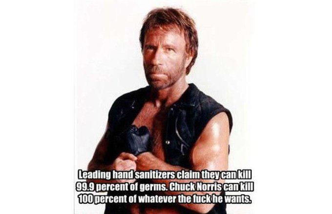Happy Birthday Chuck Norris, the only person immune to Covid-19