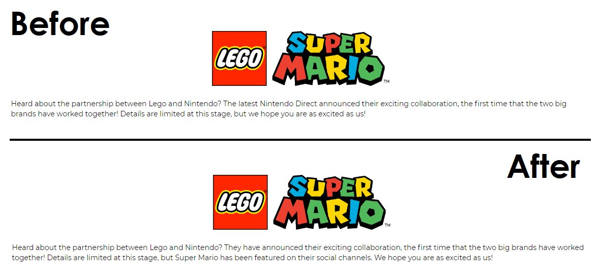GAME UK Leak Lego X Super Mario on Nintendo Direct 2020