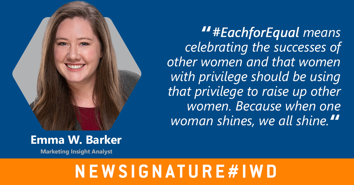 What does #EachforEqual mean for you? #IWD2020 https://t.co/stxKtstf02