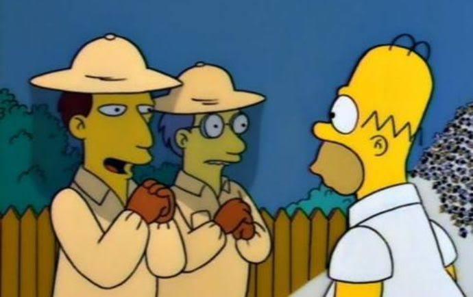 """Los Simpson auf Twitter: """"- Es muy astuto señor Simpson. Atrae a ..."""