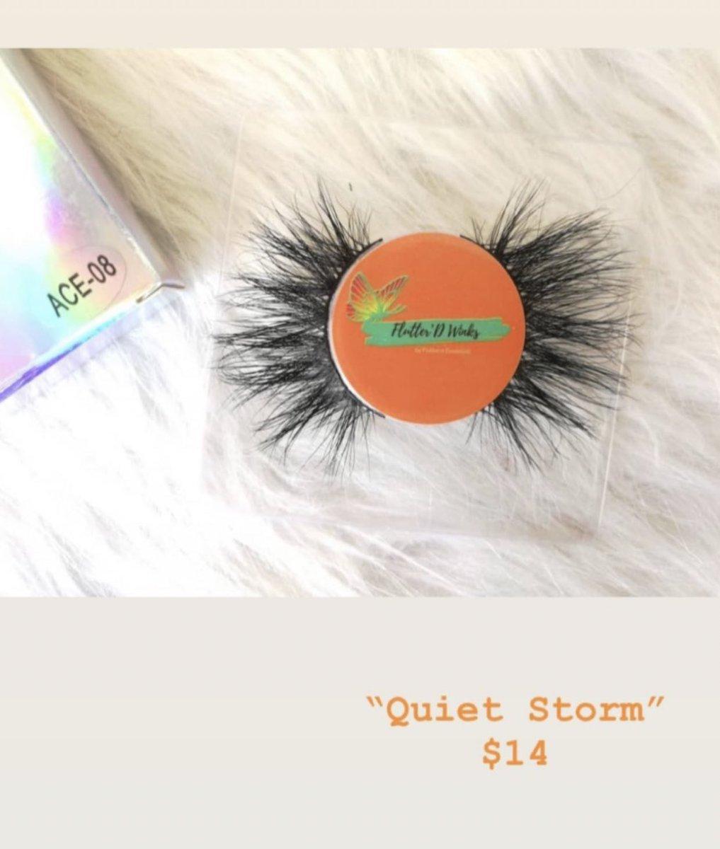 """Quiet Storm "" $14 COME SHOP LADIES Link To WEBSITE in BIO  CONTACT US  flutterd.essentials@gmail.com #lashbabes #minkeyelashstrips #dmvlashes #girlboss #makeup #girlboss #dmvmakeupartist #dmvmakeup #lashes #lashtechnician #minkstriplashes #makeupbrushes #comeshoppic.twitter.com/tNxVqRAJxj"