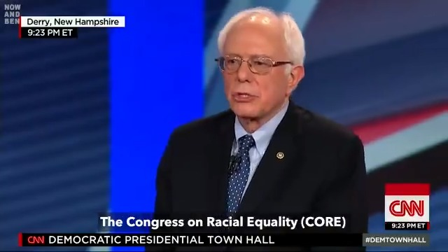 MUST WATCH❗️  It is clear that there is only one candidate to lead our nation.  One who tirelessly fights for the poor, the vulnerable & the working class, the many, not just the wealthy few.   His name is Bernard Sanders.