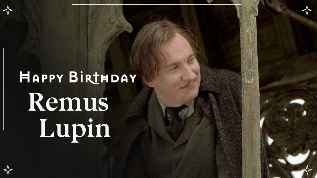 Our advice for today? Eat... itll help. Happy birthday to Remus Lupin, who always understood the importance of chocolate 🍫