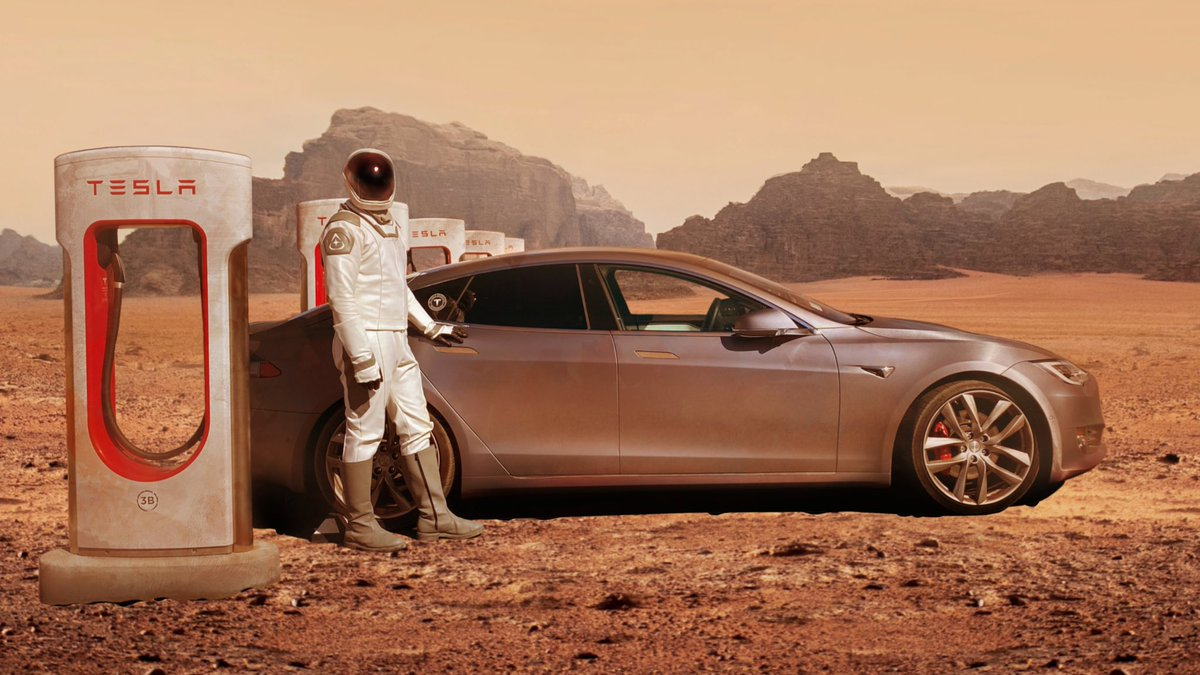 Supercharging on Mars https://t.co/jnNOacqmYC