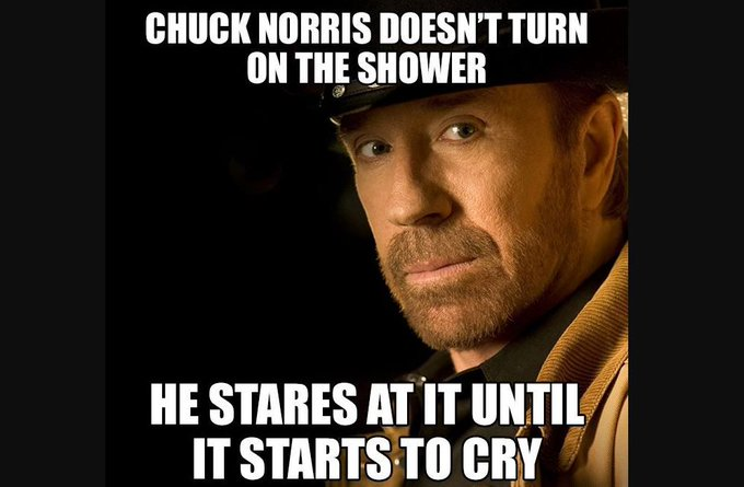 Happy birthday to the legend, Chuck Norris.  It has caused me to fall down a wormhole of Norrisisms.  Priceless.