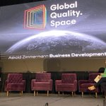 Image for the Tweet beginning: Keynote speaker from Global Quality