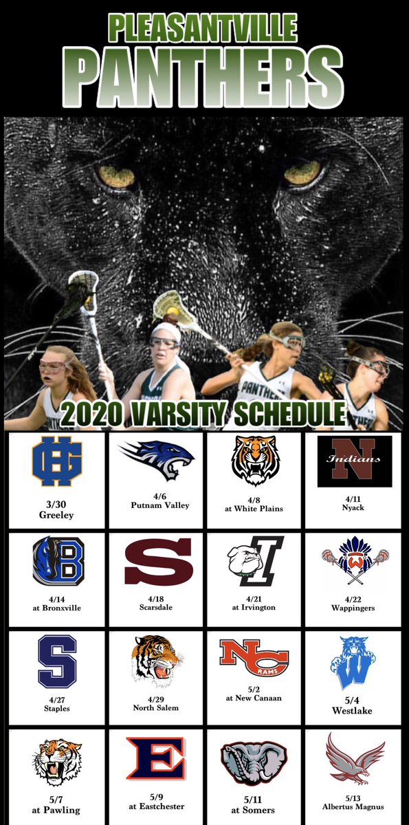 Our 2020 Varsity Game Schedule! The journey began yesterday and we've hit the ground running! #2020schedule #seniormentality #forourseniors #roadtoredemption #changetheending #ourtimeisnow #we>me #pantherpride #pvilleglax @PVilleAthletics https://t.co/4as7rDhUwC