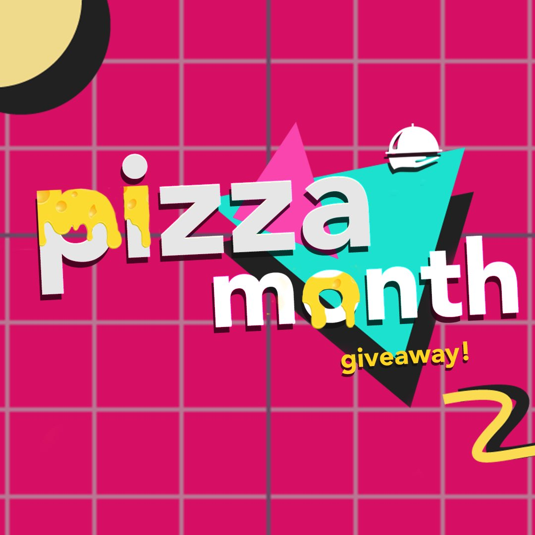 Our #PizzaMonth giveaway is live on Instagram! Go get 'em! https://t.co/PbneFF9GAY 🍕 https://t.co/ViHmZb2fsj