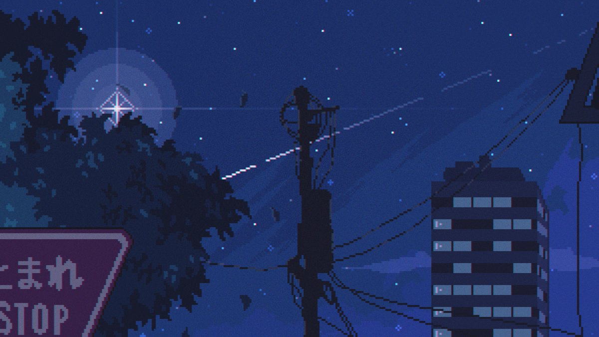 Timpers Faze5 On Twitter Stargazing A Free Pixel Art Desktop Wallpaper Rts And Likes Are Highly Appreciated Unlock Hd Version At 150 Likes So Get Sharing Pixelart ドット絵